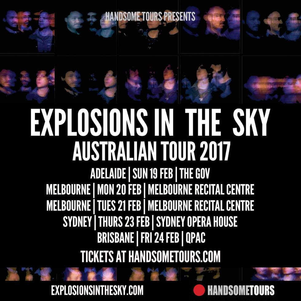 Explosions in the Sky Tour Advert