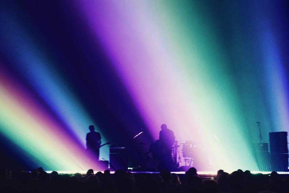 Explosions in the Sky at QPAC Concert Hall 2017. Photo credit: Instagram (@jacelah)
