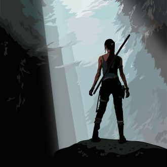 Tomb Raider artwork by Tom Deacon
