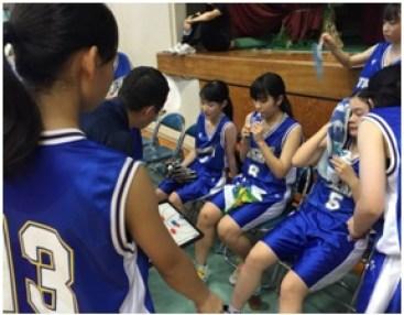 バスケット中体連③