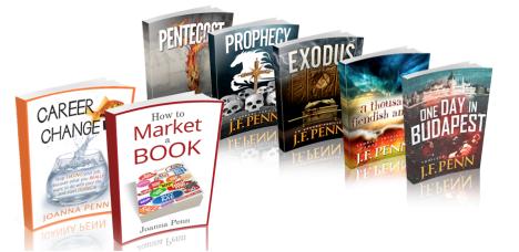 Joanna Penn books