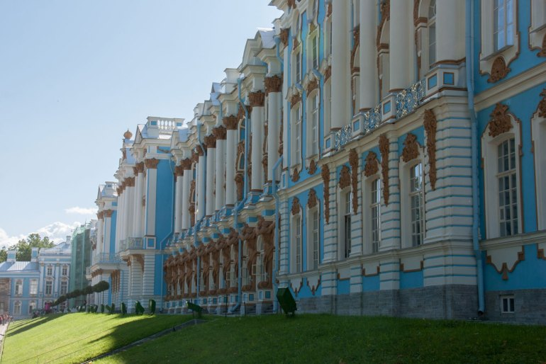The Catherine Palace, St Petersburg