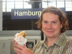 A Hamburger in Hamburg