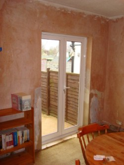 Pic of new French doors