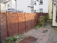 pic of repaired fence