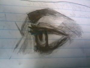Lunchtime Sketch - Eye