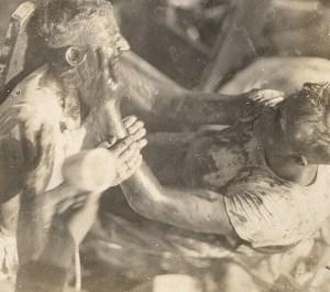 Mac, (Eugene S. McSpadden) 1922, crossing the equator