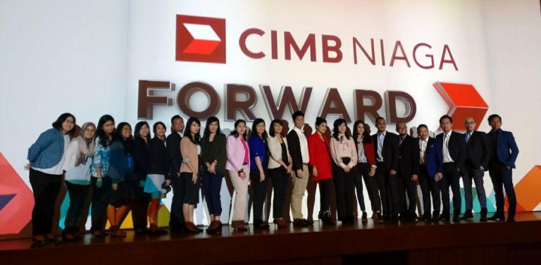 Ingin Dekat Dengan Nasabah, CIMB Niaga Perkenalkan Brand Promise FORWARD