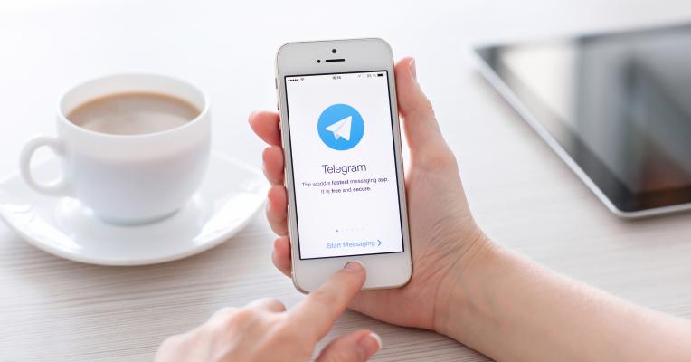 Keasyikan Pake Telegram Messenger