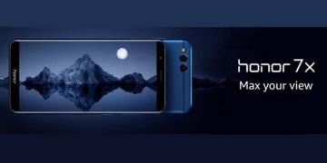 Ponsel Gaming Honor 7X