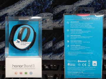 Huawei Honor Band 3, Smartband Elegant dan Anti Air