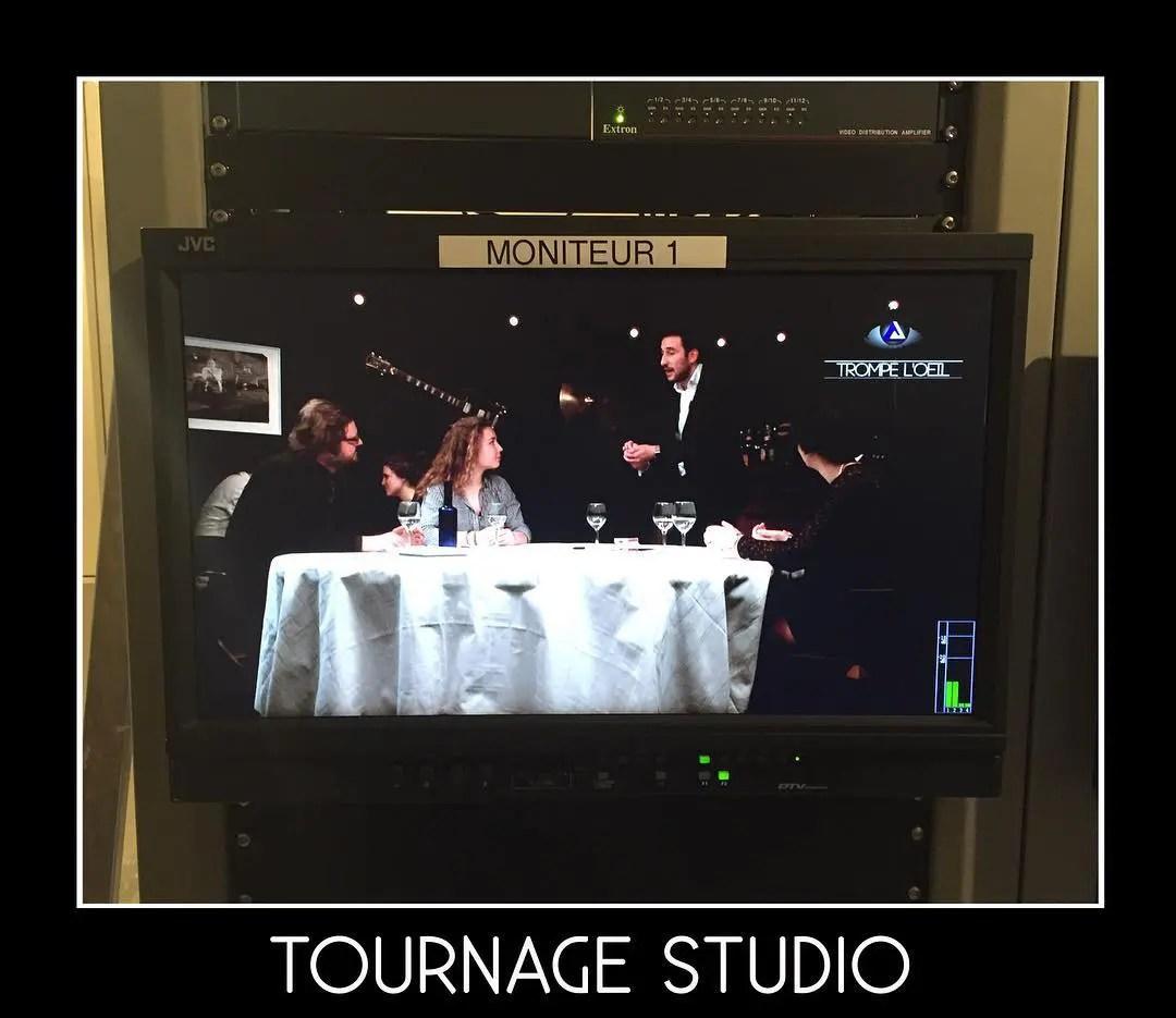 Tom Le Magicien - Tournage Studio