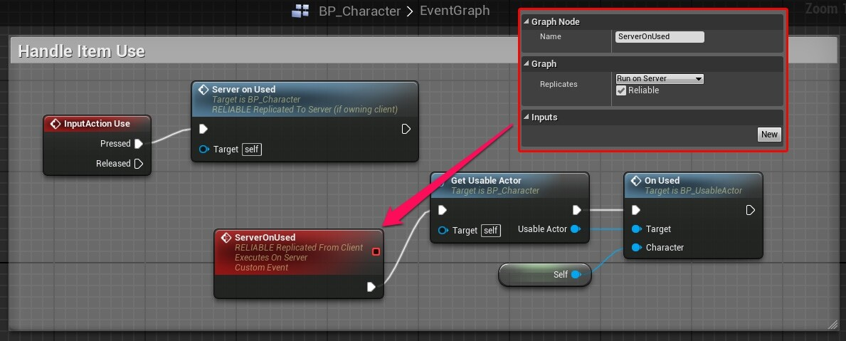 Tutorial multiplayer supported usableactor system in blueprint we need this for function replication as input is executed on the client side and our use logic must be send to the server make sure the event matches the malvernweather Gallery
