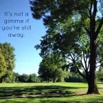 Golf Gimme