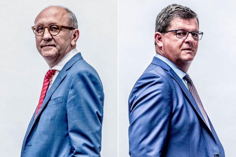 Bart Tommelein en Johan Vande Lanotte