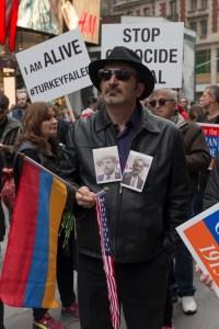 Armenian Genocide Rally