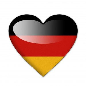 German Flag in a Heart