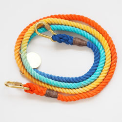 Found My Animal Sweet Pea Rope Leash, Adjustable