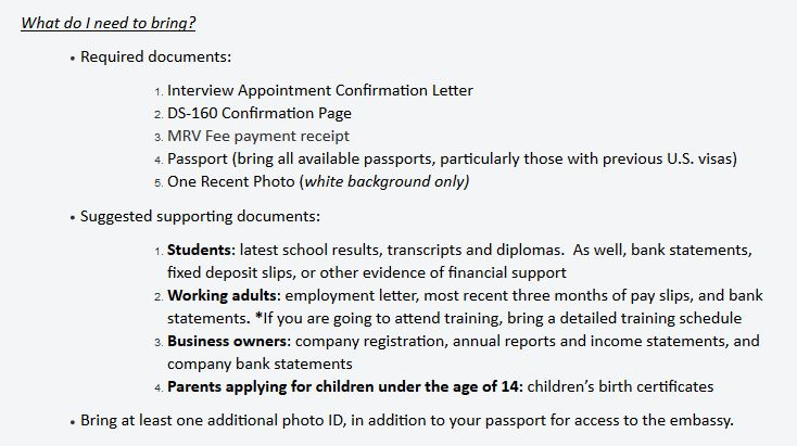 How to Apply US Visa for Malaysian