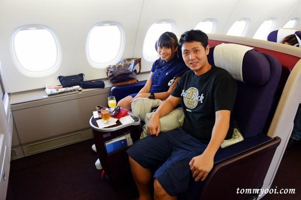 MAS MH0021 Business Class