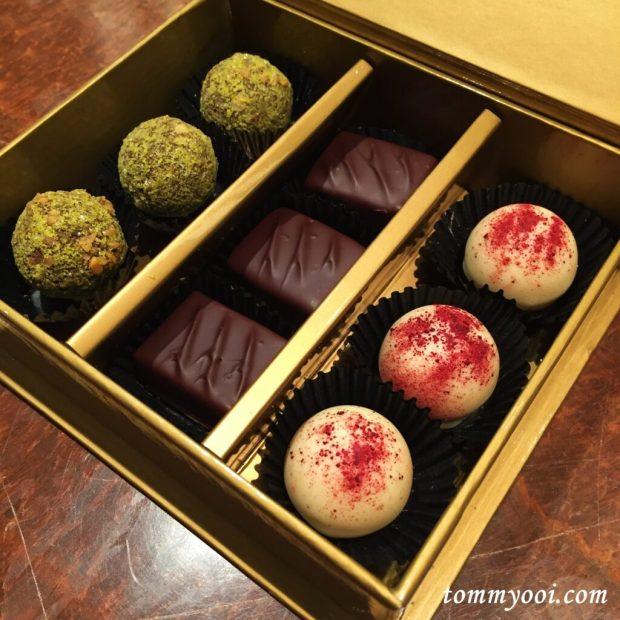 Artisan Chocolate, Shangri La Singapore