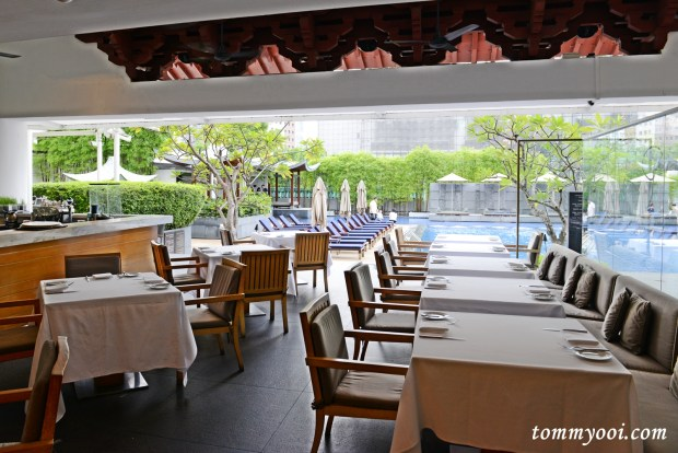 Pool Grill, Singapore Marriott Hotel