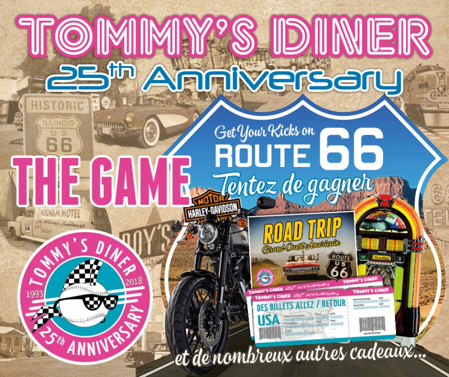 25th Anniversary : Get your kicks on Route 66