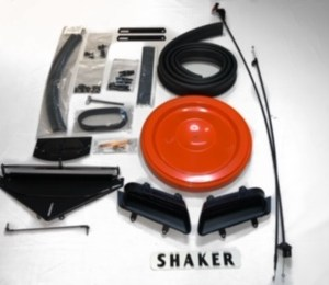 1970-71 Plymouth 'Cuda and Dodge Challenger 340 Shaker Kit Includes Air Filter