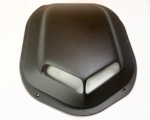 Premium Shaker Bubble Satin Black Textured