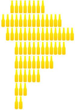 Cerveza en sudamérica