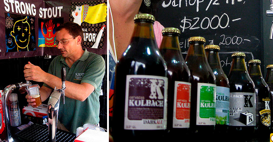 Cervezas en Echinuco 2011