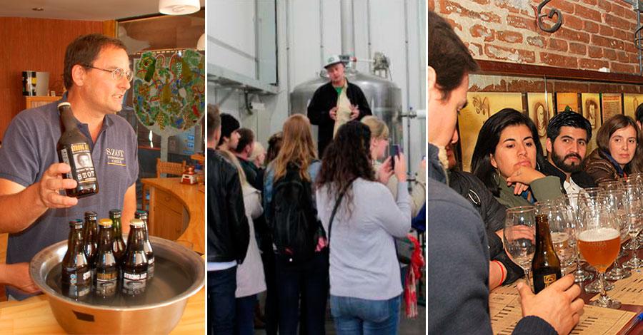 Tours y visitas a cervecerías artesanales
