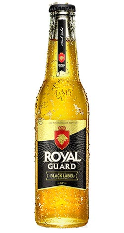 Cerveza Royal Guard Black Labek