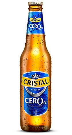 Cerveza Cristal Cero