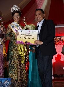 Ratu Bunga 2012 Sisca Venessia Iskandar, TIFF 2012