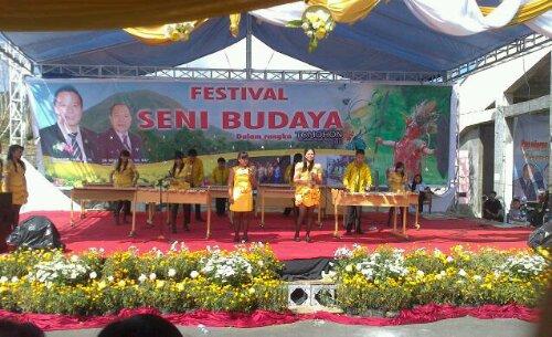 Festival Seni Budaya antar Sekolah, TIFF2012