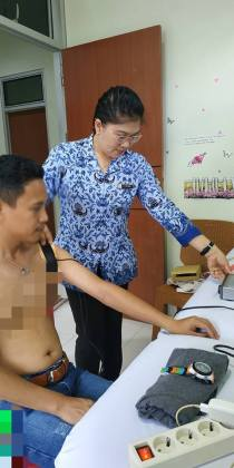 Fisioteraphi, RSUD Anugerah Tomohon