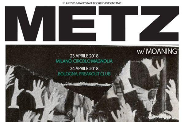 Metz, due date in Italia ad Aprile