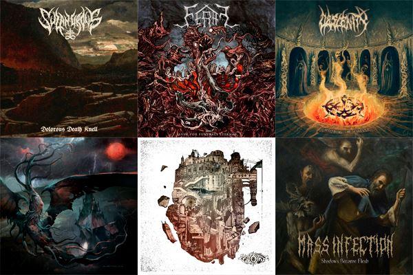 L'Angolo Della Morte: Le 10 uscite Death Metal più significative di Dicembre 2018