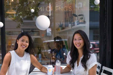 Hannah and Marian Cheng of Mimi Cheng's