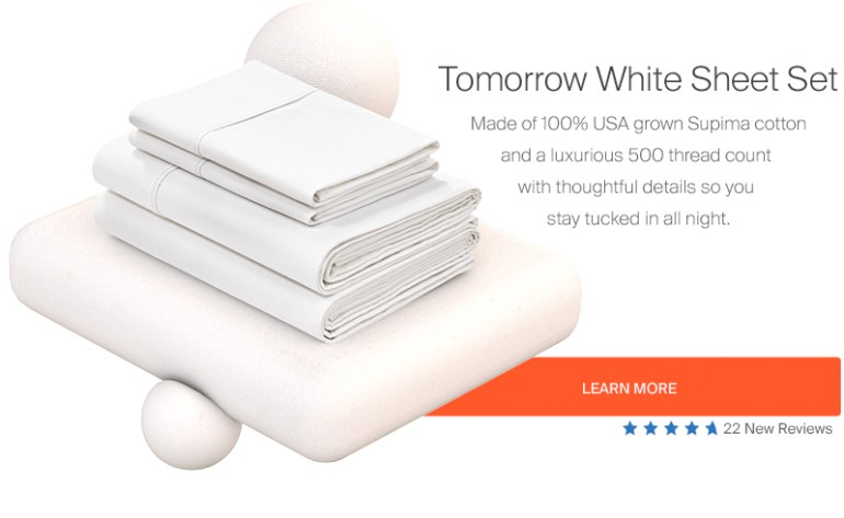Tomorrow Sleep Supima Cotton Sheets