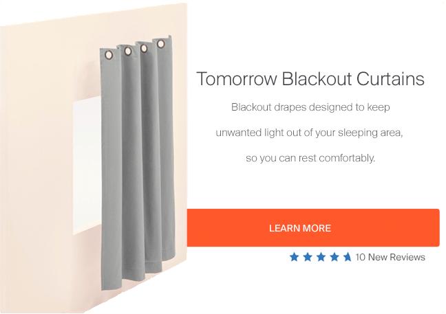Tomorrow Blackout Drapes