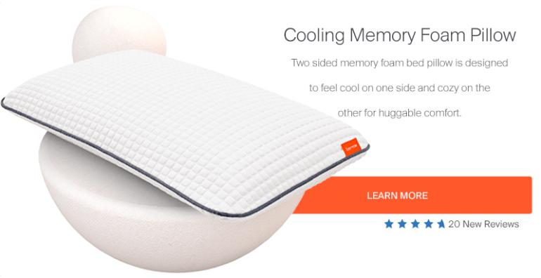 Cooling Memory Foam Pillow