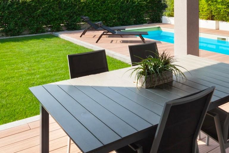 DIY Outdoor Patio Furniture- Vinyl