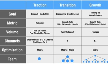Traction vs Growth