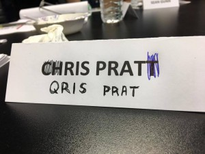 Guardians of the Galaxy Table Read