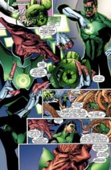 Green Lantern Bateria