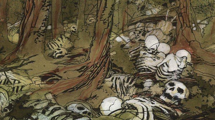 Gabriel Hernández El bosque de los suicidas dibbuks