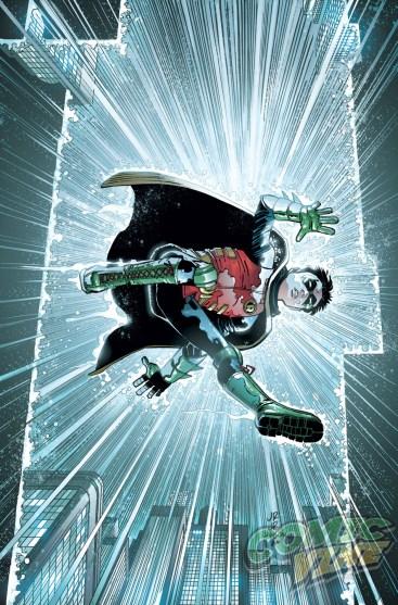 Robin: Hijo de Batman # 11 de John Romita Jr. y Klaus Janson
