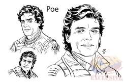 Poe, por Luke Ross